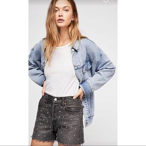 Levi's High Rise Wedgie Cutoff Shorts - Size 29